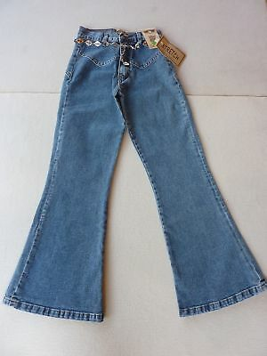 Children Pants Girls Pants Stretch Pants Jeans Trousers Gr.128-146 Fun Jeans New