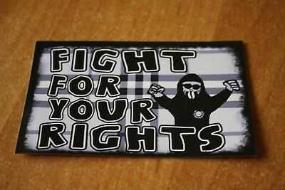 Fußball Aufkleber Fight for your rights