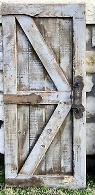 Wood Barn Door Wall Decor