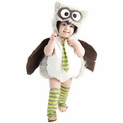 Edward The Owl Baby Infant Deluxe 12-18 Months Halloween OWL Costume NEW NWT