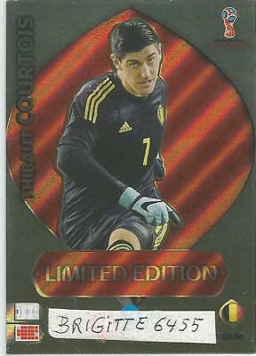 Panini Adrenalyn XL World Cup Russia 2018 Limited  Edition Thibaut Courtois