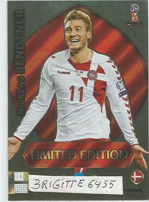 Panini Adrenalyn XL World Cup Russia 2018 Limited  Edition Niklas Bendtner