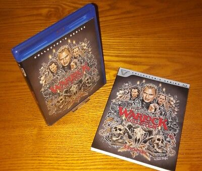 THE WARLOCK COLLECTION Blu-ray US import Vestron region a (rare OOP slipcover)