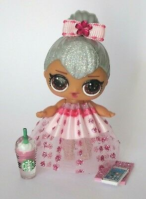 LOL Surprise Doll Custom Skirt Bow Clothes Outfit Accessories DOLL NOT INCLUDED