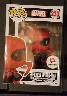 Funko Pop Marvel SUPERIOR SPIDER MAN #233 Walgreens Exclusive