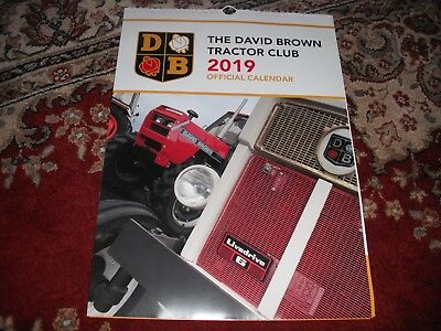 David Brown Tractor Club 2019 Calendar