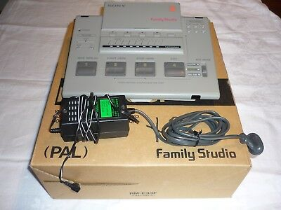 SONY Family Studio RM-E33F Video Editing Controller (PAL) - As New Condition