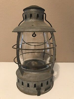 "1940s Antique PERKO 11"" Marine Lamp Gas Oil Lamp by Perkins USA RARE Perko"