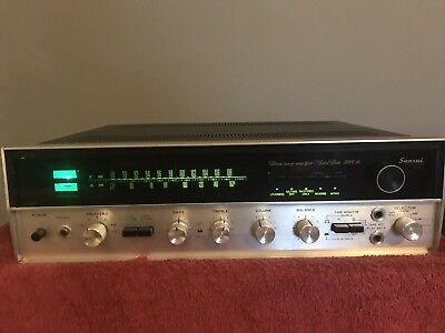 Sansui Model 5000A AM-FM Stereo Receiver=working