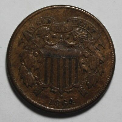 1864 Two Cent Piece MP7