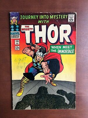 Journey into Mystery #125 (1966) 6.0 FN Marvel Key Issue Hercules App Silver Age