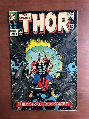 Thor #131 (1966) 7.0 FN Marvel Key Issue Comic Silver Age Jack Kirby Stan Lee