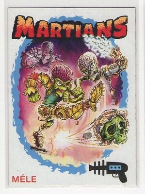 2015 TOPPS KICKSTARTER MARS ATTACKS OCCUPATION SUPERSTARS MELE Chase Card 7 of 9