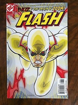 Flash #197 NM 1st appearance of Professor Zoom Geoff Johns 2003