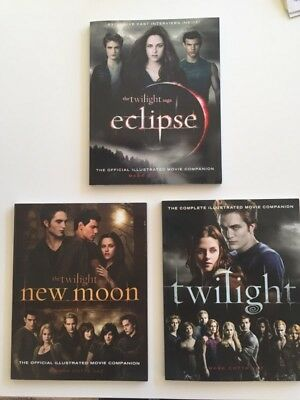 The Twilight Saga - The official illustrated movie companion - 3 volumes