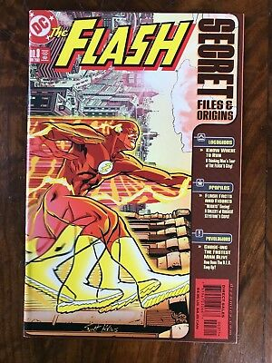 Flash Secret Files and Origins #3 VF+ 1st Hunter Zolomon (Professor Zoom 197)