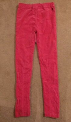 Joules Hot Pink Cotton Skinny Trousers Age 11-12 Years