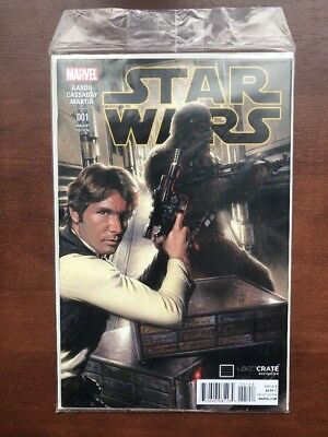 Star Wars #1 (2015) 9.6 NM Loot Crate Variant Still Sealed Marvel Key Issue
