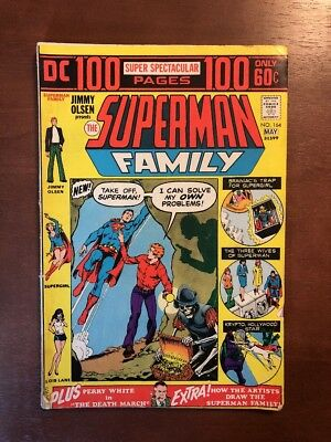 Superman Family #164 165 166 167 168 169 170 (1974) FN VF DC Key Issue Comic Lot