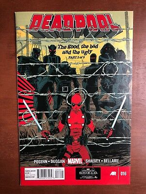 Deadpool #16 (2013) 9.2 NM Marvel Key Issue X-Force New Mutants High Grade 1st