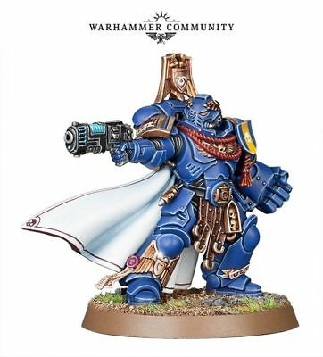 Space Marine  Primaris Captain with Power Fist Limited Edition