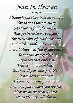 A Loving Brother In Heaven Memorial Graveside Poem Card With Ground