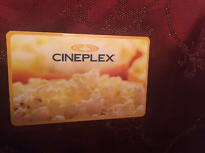 $100 Cineplex Gift Card