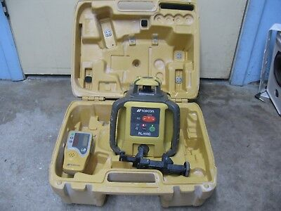 2016 Topcon RL-H4C Self-Leveling Rotary Laser Level LS-80L Detector Receiver