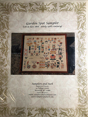 Samplers and Such-Garden Spot Sampler- OOP