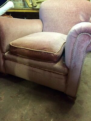 Two 1930s Arm Chairs