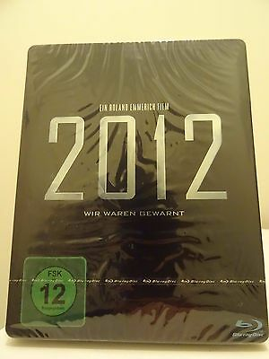2012 Blockbuster Film Blu-ray Steelbook New&Sealed German Edition English Audio