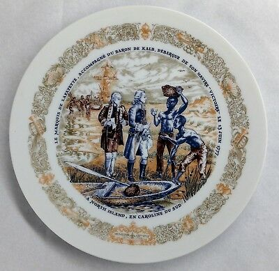 1973 D'arceau Limoges Lafayette Legacy Collection Plate Number 2 With COA