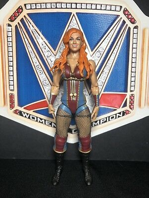 Custom WWE Divas Superstar The Man Becky Lynch TotalDivaCustoms Mattel Elite