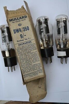 DW4 350 rectifier valves x 3   - Tested  - suit PX4 use