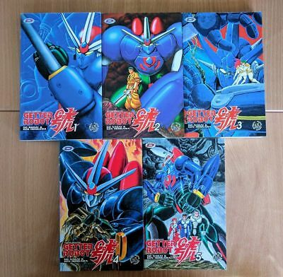 Getter Robot Go Collection Complete Tomes 1 2 3 4 5 Go Nagai Goldorak Hyper Rare