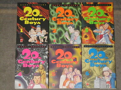 20Th Century Boys 1 2 3 4 5 6 Naoki Urasawa Eo Monster Billy Bat Pluto