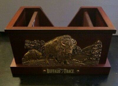 Buffalo Trace Bronze Straw Caddy