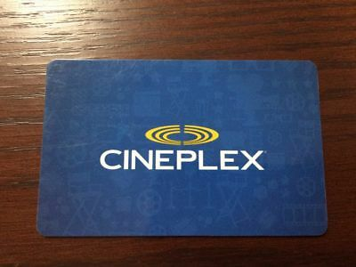 $50 Cineplex Gift Card - Lot 3