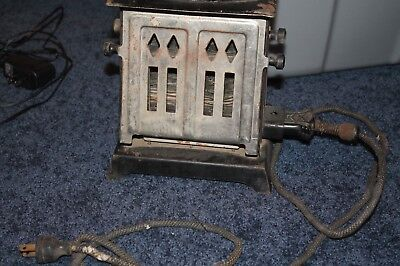 Very old toaster but still works! Cord is rough and there is some rust