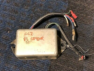 1983 83 Honda CR480 CR480R CDI Ignitor ECU Box