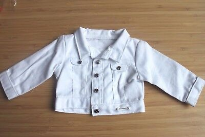 American girl a white jacket from  Z Yang's 18'' doll accessories
