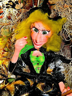 Branbria Wicked Witches, Wizards & Fairies ~ Magical OOAK Doll Hand Sculpture