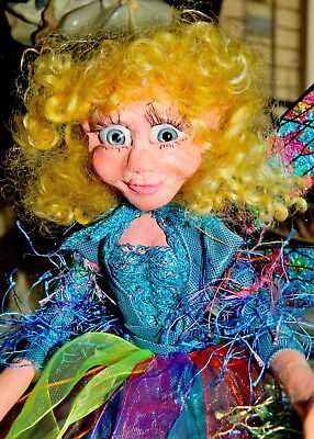 Branbria Fairies, Pixies, Witches & Gnomes ~ Magical Unique  OOAK Doll Sculpture