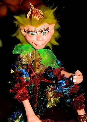 Branbria Pixies, Gnomes, Fairies &  Kitchen Witches ~ OOAK Doll Hand Sculpture