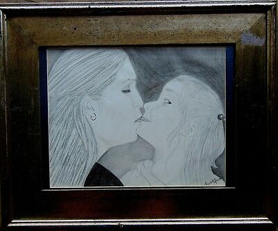 HAUNTING and DISTURBING DRAWING of a MOTHER and her DAUGHTER!