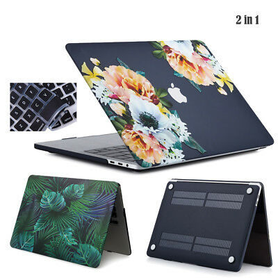Rubberized Hard Case Shell for Macbook Air 13 Pro 13 15 Retina + Keyboard Cover
