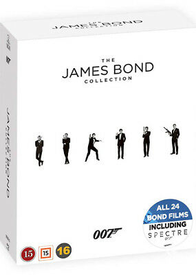 James Bond Collection NEW Blu-Ray 24-Disc Box Set Martin Campbell Daniel Craig