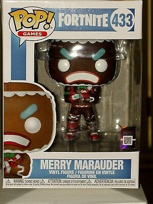 Funko Pop! Games Fortnite MERRY MARAUDER Vinyl Figure #433 * MINT * Free Ship
