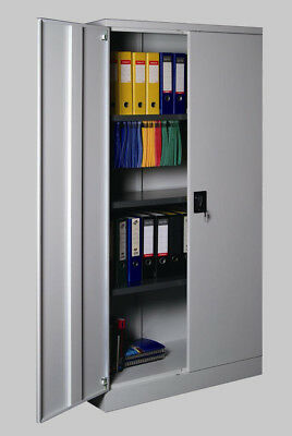Metal Stationery Cupboard Steel Stationery Storage Cabinets Office Furniture