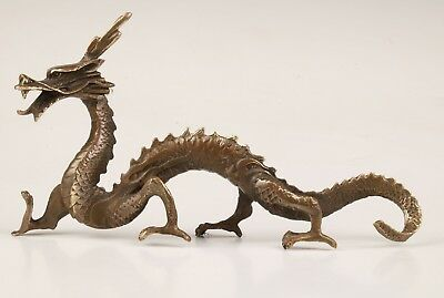 Unique China Bronze Statue Holy Complete Collection Dragon Mascot Gifts